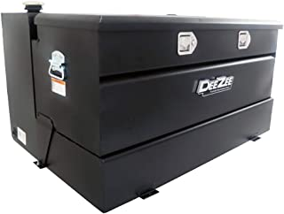 Dee Zee DZ92647SB (92 gallon) Black Steel Combo Transfer Tank & Tool Box