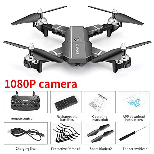HJ100 GPS Quadcopter Drone, FPV RC Drone met camera 720P / 1080P / 4K HD WiFi Live Video, Auto Return Home, Altitude Hold, Follow Me