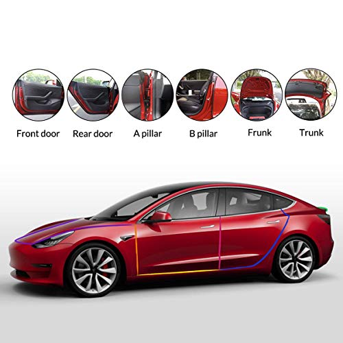 Farasla-Seal-Kits-for-Tesla-Model-3-with-Frunk-Trunk-Seals-Adhesion-Promoters-Included