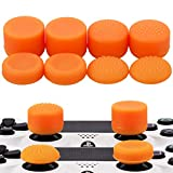 MXRC Thumb Grip Thumbstick Joystick Cap 4 Styles All 8 Units FPS Professional Sets Pack for PS2, PS3, PS4, Xbox 360,Controller Orange