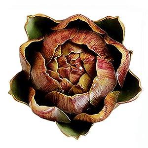 Silk Flower Arrangements East Majik Artificial Plants Fake Bromeliad Flower for Home Decor
