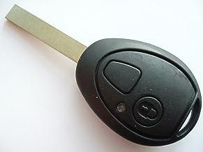 Topsmart Coque de Protection de cl/é de Voiture en TPU Finition chrom/ée pour BMW Mini Cooper F54 F55 F56 F57 F60 3 Boutons et 4 Boutons Rose