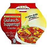 Dreistern Gulasch - Suppentopf mit Kartoffeln
