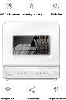 Lavavajillas, Escritorio Del Hogar Lavavajillas Esterilización De Control Inteligente De Temperatura Y Secado Integrado