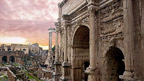PANDABOOM Rompecabezas De 35 Piezas, Arco Triunfal De Severo En El Foro Romano, Juguetes Educativos Bricolaje (15 X 10 Cm)