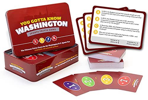 You Gotta Know Washington - Sports Trivia Game
