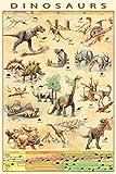 EuroGraphics Dinosaurs Poster 24 x 36