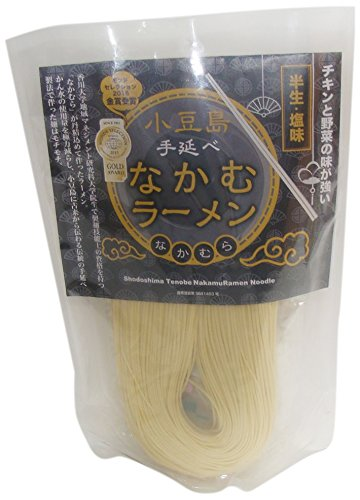 なかむラーメン しお味(麺180g、しお味スープ2袋)