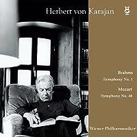カラヤン   ウィーン・フィル / ブカレスト・コンサート 1964 ~ モーツァルト : 交響曲 第40番   ブラームス : 交響曲 第1番 (Brahms : Symphony No.1   Mozart : Symphony No.40 / Herbert von Karajan   Wiener Philharmoniker) [2LP] [Live Recording] [Limited Edition] [日本語帯・解説付] [Analog]