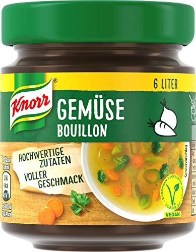 Knorr Gemüse Bouillon Glas, 6 Liter, 10er Pack