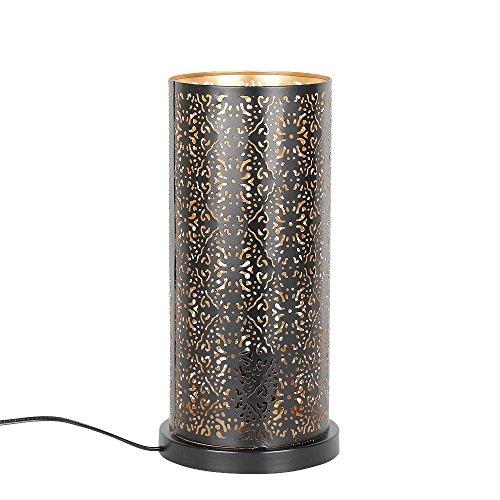 albena shop 73-633 orientalische Tischlampe (Lakia schwarz)