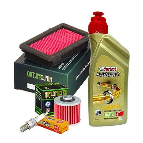 Kit tagliando Castrol Power 1 10W40 filtro olio aria candela MT-03 / XT 660 R/X