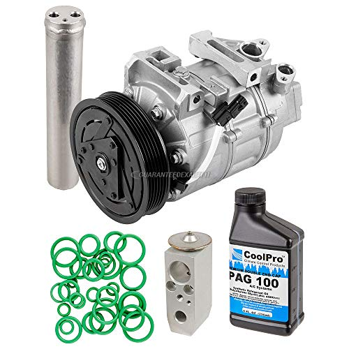 AC Compressor & A/C Repair Kit For Nissan Altima 2007 2008 2009 2010 2011 2012 - BuyAutoParts 60-81776RK NEW