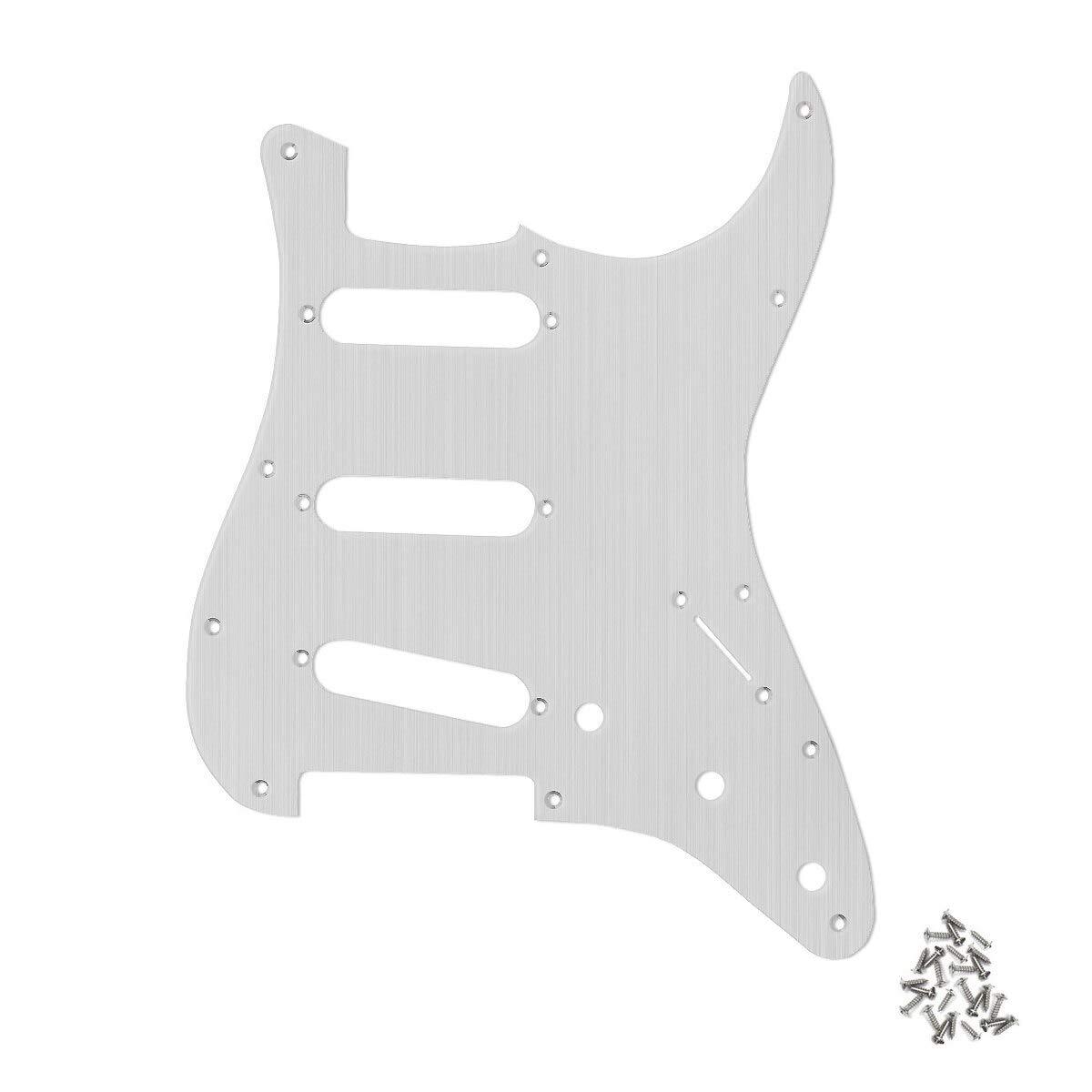 Guitar Parts for Metal Aluminum Choice Strat Pickguard SSS Selling rankings Gui Electric