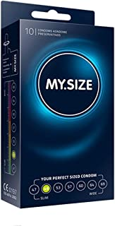 MY.SIZE MS4910 Condoom 10 stuks 49 mm transparant