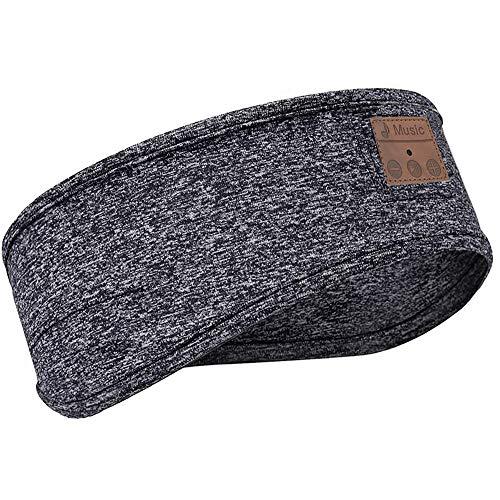 Goulian Schlaf-Kopfhörer, kabellos, Bluetooth-Stirnband, Musik, Anrufen, Sport, Laufen, Yoga, Kopftuch für Damen und Herren