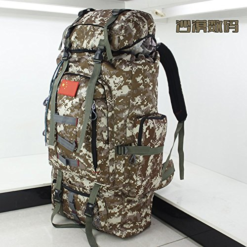 Grand sac à dos sac à dos étanche volume plein air sac à dos camouflage Jungle boy