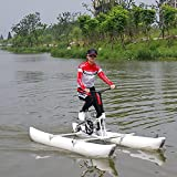 Bicicletas Acuáticas para Adultos, Bote Inflable para Kayak para Lago,...