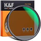 K&F Concept Filtro Ultravioleta UV 72mm Slim Vidrio Alemán Schott con 18 Capas Recubrimiento Multirresistente y Funda