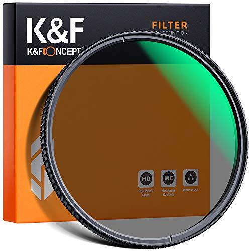 K&F Concept Filtro HD MCUV 43mm Filtro Ultravioletto Resistente ai Graffi Rivestimento Multistrato Impermeabile Filtro di Protezione Vetro Ottico Tedesco Schott Sottile Ultra Trasparente per DSLR