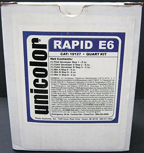 Ultrafine Unicolor E-6 Film Rapid Developing Kit 1 Quart Arkansas