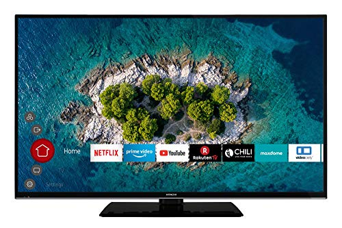 HITACHI U50K6000 127 cm (50 Zoll) Fernseher (4K Ultra HD, HDR10, Dolby Vision HDR, Triple Tuner, Smart TV, Works with Alexa, Bluetooth, PVR)