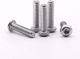 5//16-18 x 3-1//2 Socket Head Cap Screws Bright Finish Quantity 5 Pieces by Fastenere Allen Socket Drive Stainless Steel 18-8 Partial Thread