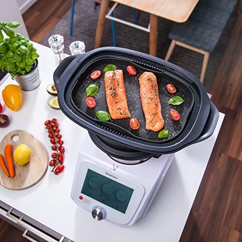 mixcover Dampfgarform Silikonform Auflaufform für Monsieur Cuisine Einlegeboden