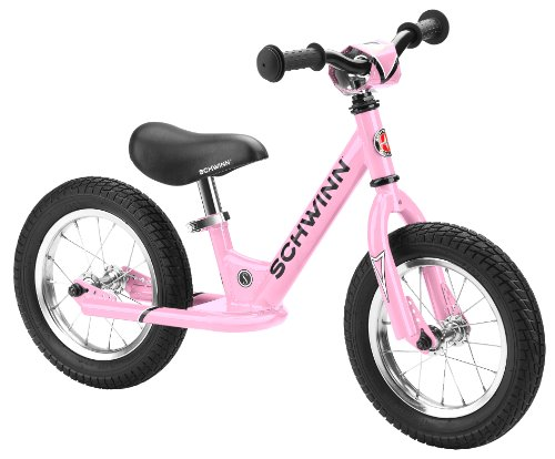 Schwinn Skip Toddler Balance Bike, Skip 1, 12-Inch Wheels, Pink