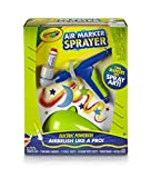 Crayola Air Marker Sprayer Airbrush Kit, Gift for Kids Age 8, 9, 10