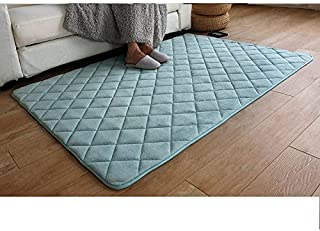 HOMEE Living Room Mat Coffee Table Coral Mats Bedroom with Bunk Beds Edge Pads and Infant Children Baby Thick Creeper Floor Mat