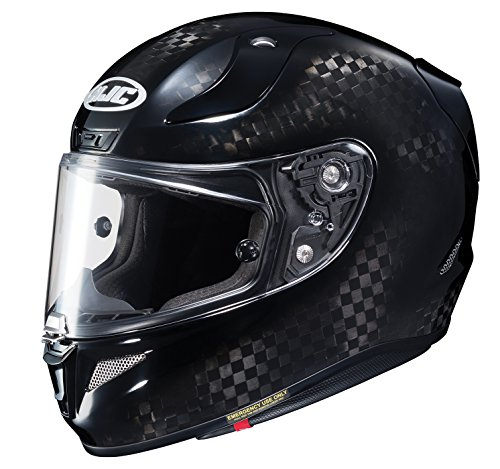 HJC Helmets Unisex-Adult Full-face-Helmet-Style RPHA 11 Pro Carbon (Black, X-Large)