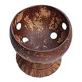 Cuenco, YOUJING Cuenco de bocadillos Naturales Creativo Cáscara de Coco Fruta Seca Po Pieceorn Cuenco Vajilla
