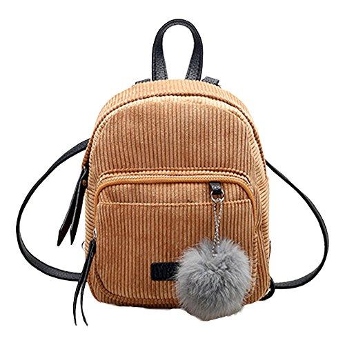 OYSOHE Mädchen Schultertasche Hairball Cord Schultasche Student Rucksack Satchel Travel Tasche by