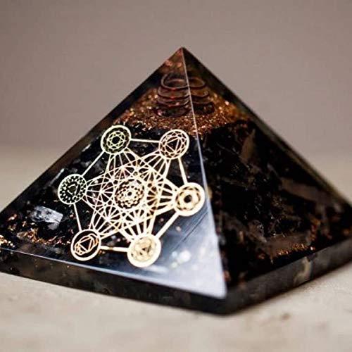 Petra Strätz Orgonit Pyramide –240- Turmalin Metatrons Würfel programmiert nach Agnihotra