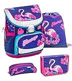 Belmil 405-33 Schulranzen Set 4 -teilig (Flamingo)