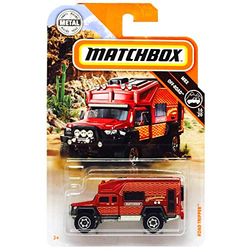Matchbox 2019 MBX Off-Road Road Tripper (Camper) 70/100, Red