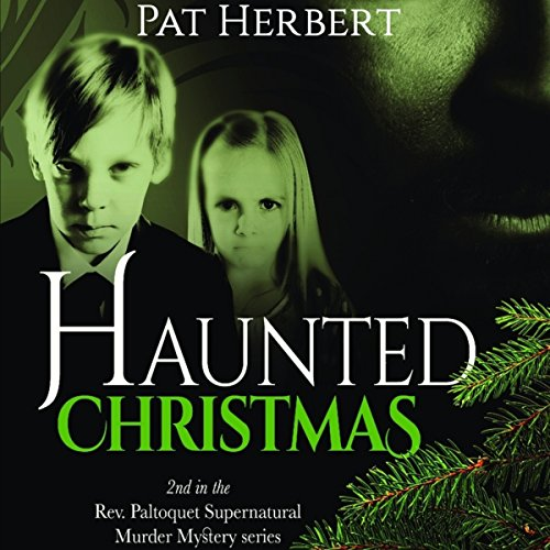 Haunted Christmas audiobook cover art