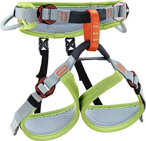Climbing Technology Ascent, Geschirr Unisex Kinder, Grün/Grau, XXS
