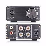 SMSL SA-36A Pro HiFi Integrated Mini Digital Stereo Audio 20WPC Amplificadores Amplifier AMP + Power Supply Black