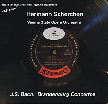 LP Pure, Vol. 8: Scherchen Conducts J.S. Bach