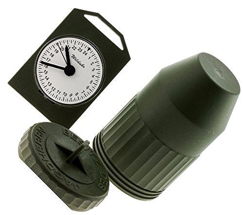 Akah Jagd Wilduhr mit 24 Stundenanzeige, Made in Germany Clock, Neu und OVP m. Batterie