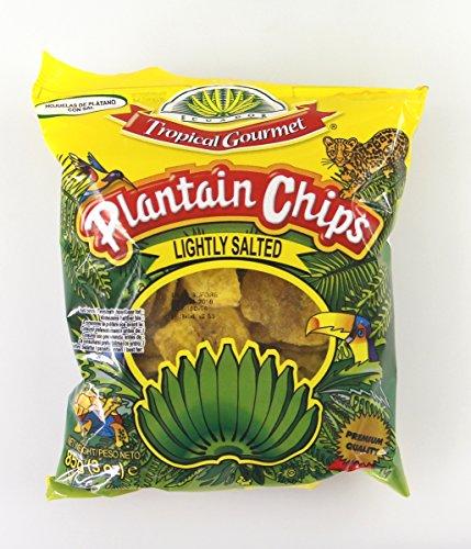 Plantain Bananen Chips leicht gesalzen 85g