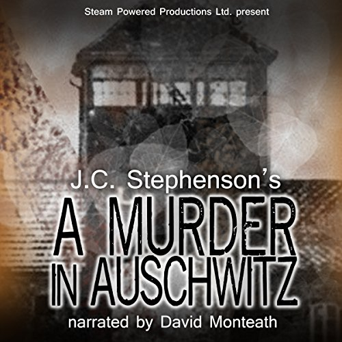 A Murder in Auschwitz audiobook cover art