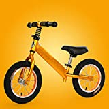 T-XYD Vélo pour Enfants Pas de pédale 12 Pouces en Alliage d'aluminium Cadre Shock...