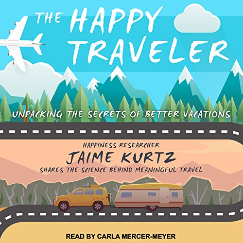 The Happy Traveler audiobook cover art