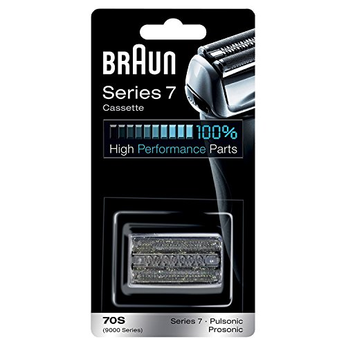 Braun Shaver Replacement Part 70S Silver, Compatible with Series 7 Shavers