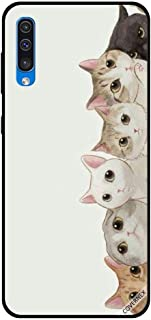 For Samsung Galaxy A50 Case Kittens Apperaing From Right