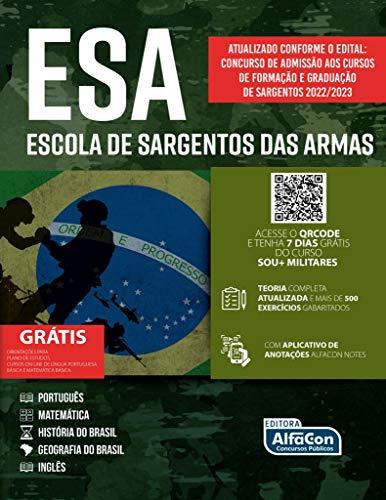 ESCOLA DE SARGENTOS DAS ARMAS – ESA – 2021