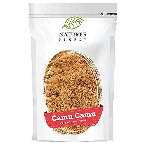 Bio-Camu-Camu-Pulver 125 g | Rohes Bio-Supernahrungsmittel | Hoher Vitamin-C-Gehalt | Paläodiätisch, Vegan und Vegetarisch